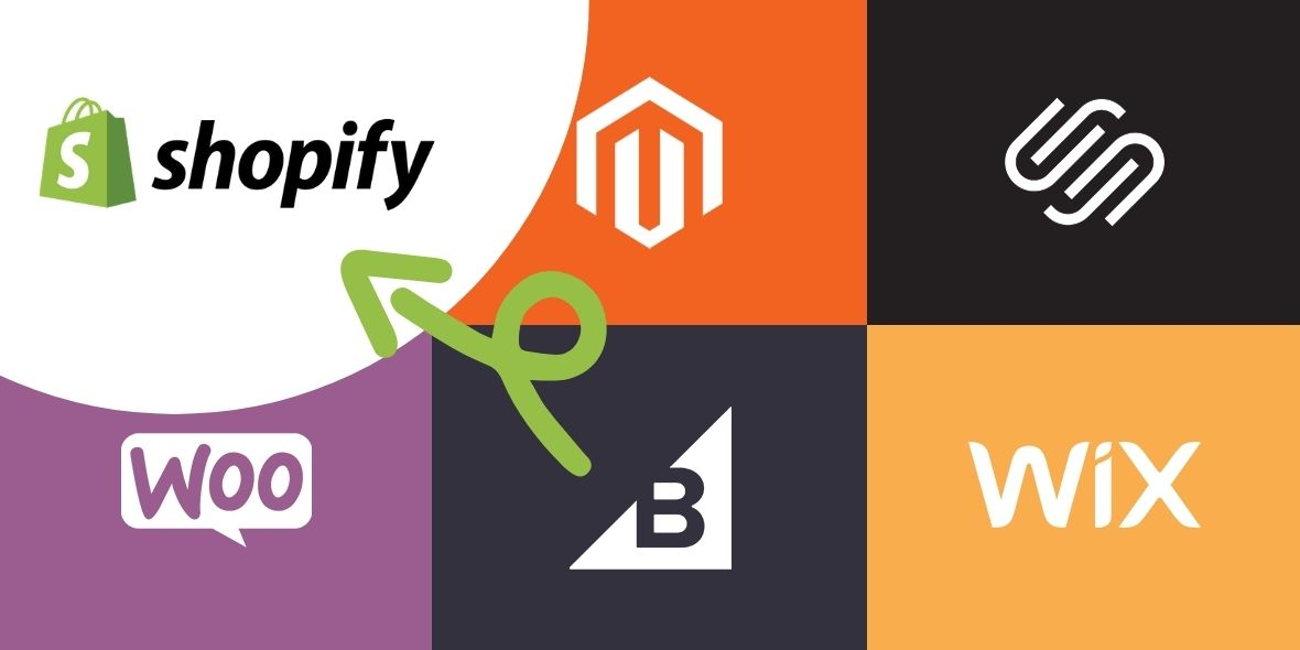 Migrate from Wix, wordpress to shopify